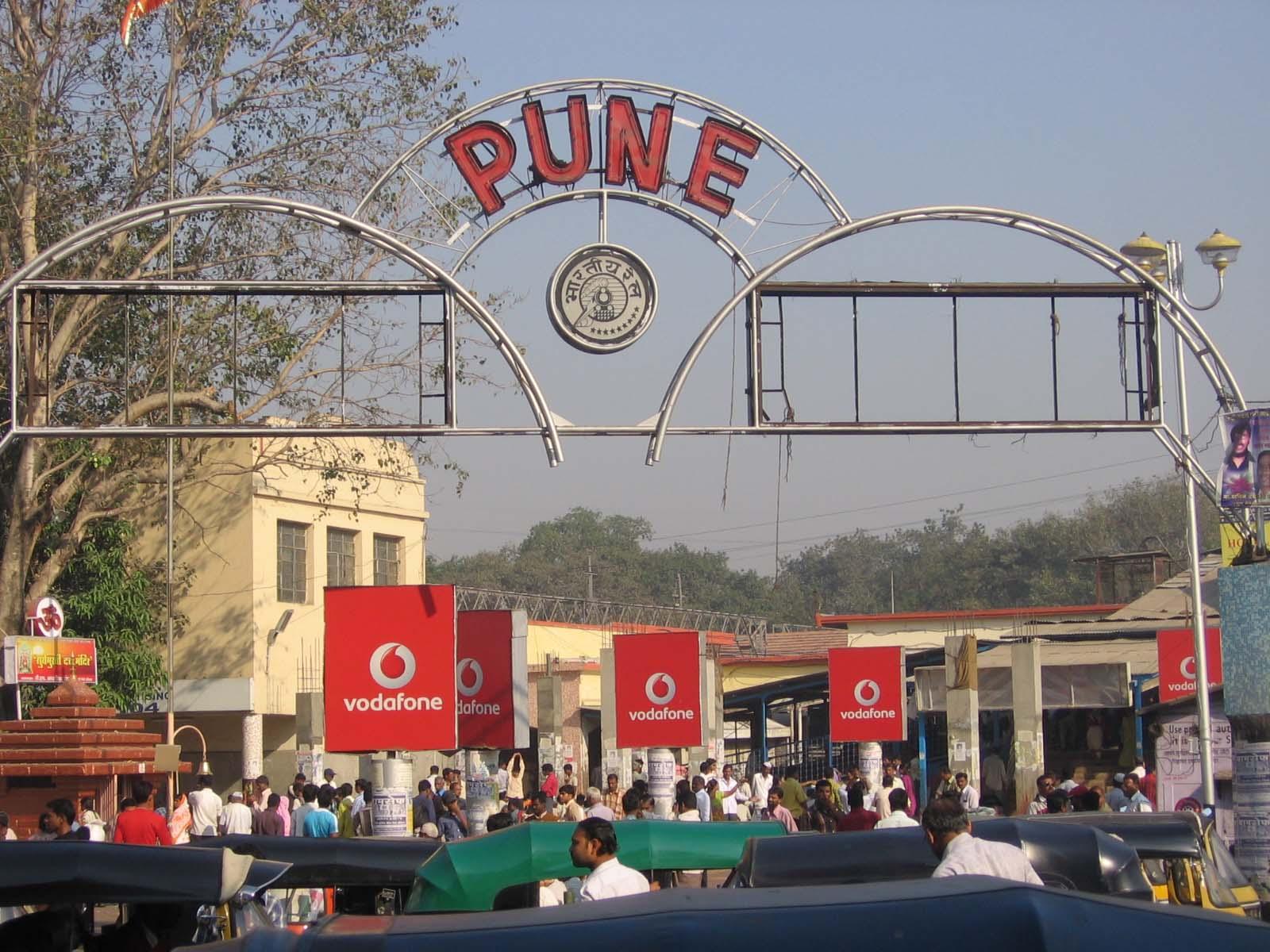 Pune station pickup drop