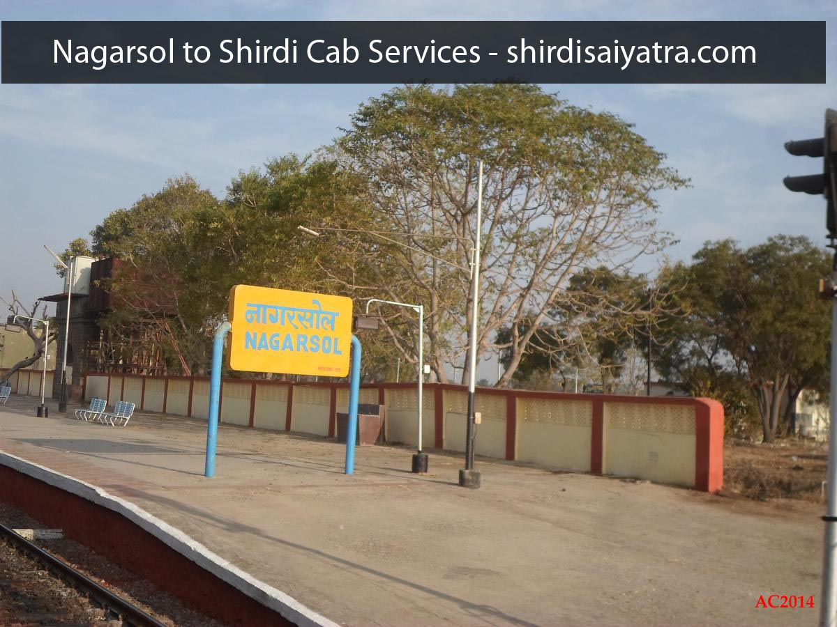 Nagarsol to Shirdi Cabs