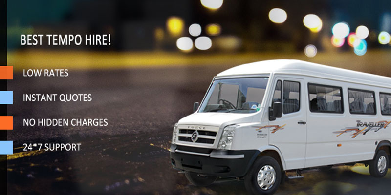 Book Tempo Traveller Services For Rent In Shirdi