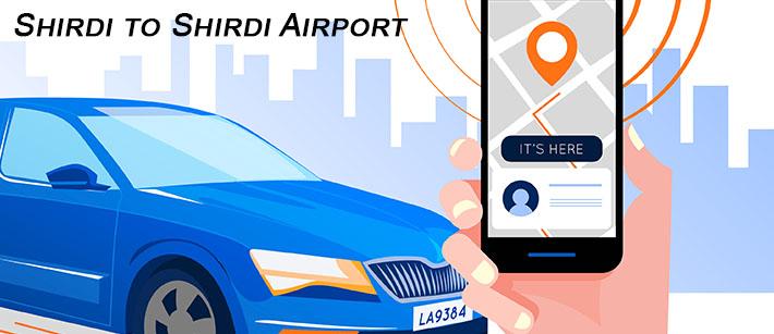 Shirdi to Shirdi Airport Cab